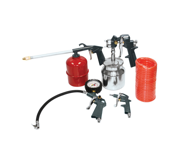 TRADEAIR 5-Piece Spray Gun And Kit