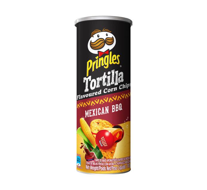 PRINGLES Corn Chips Mexican Bbq (1 x 110g)