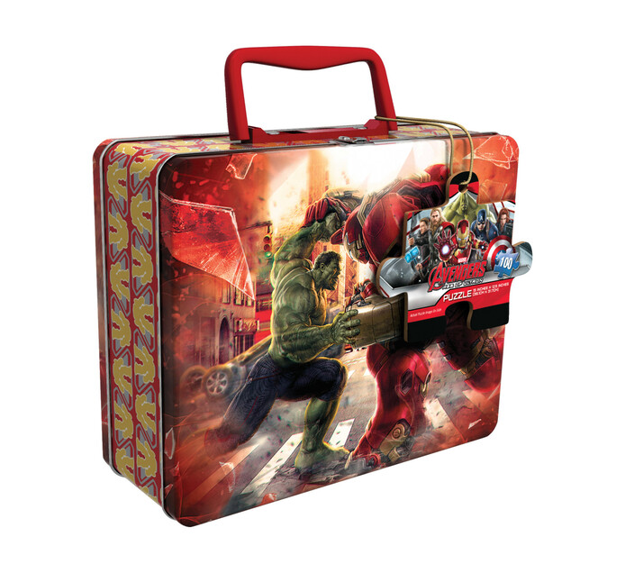AVENGERS Puzzle In Lunch Tin