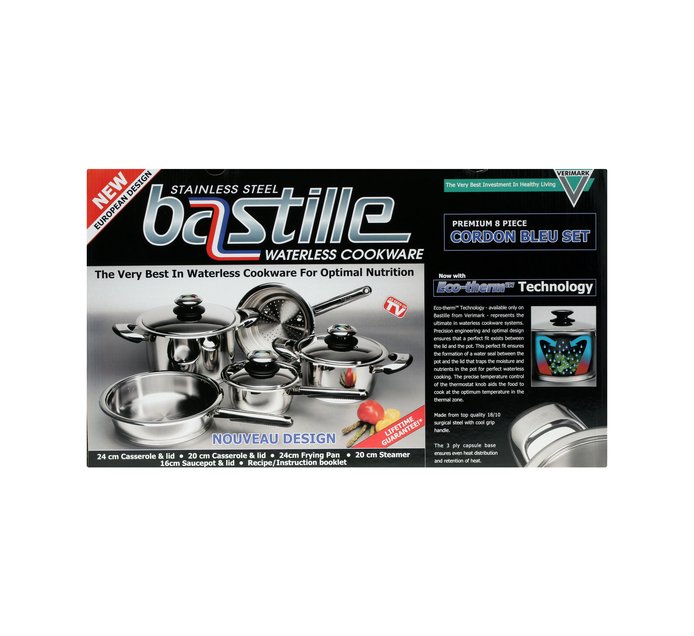 BASTILLE 8 Piece Cordon Bleu Cookware Set