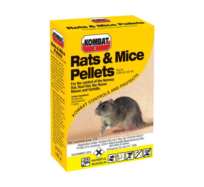 STARKE AYRES 100g Rats and Mice Pellets