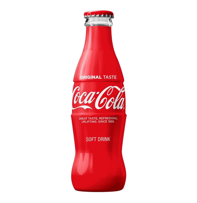 Coca Cola Soft Drink (4 x 200ml)