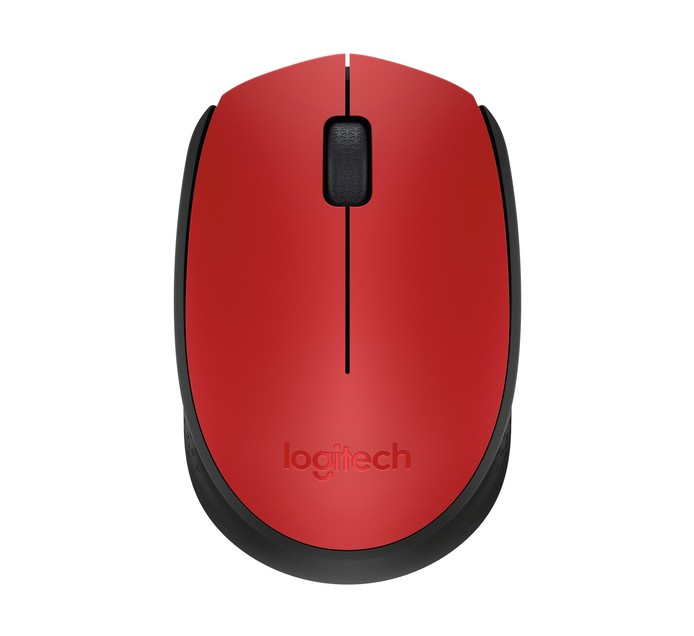 LOGITECH WIRELESS MOUSE M171 RED