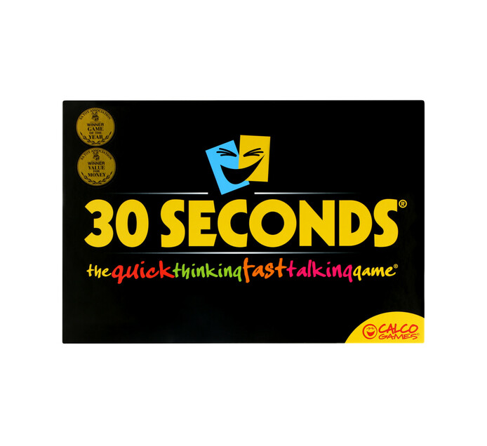 30 SECONDS Revised English Edition