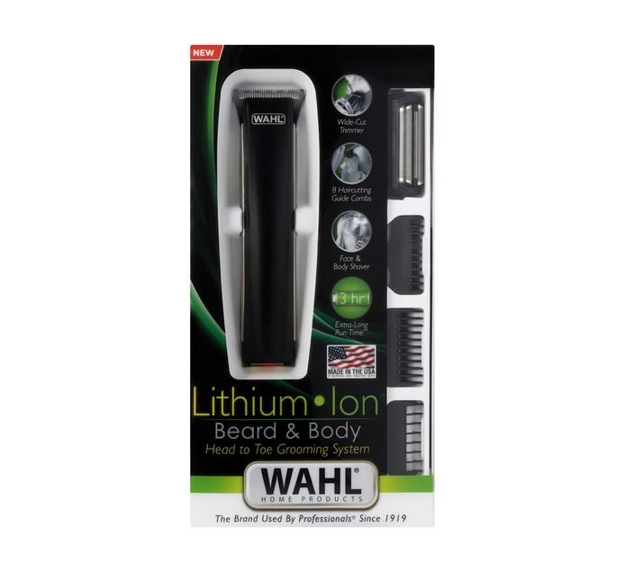 WAHL 22 Piece Litium Ion Beard and Body Groomer