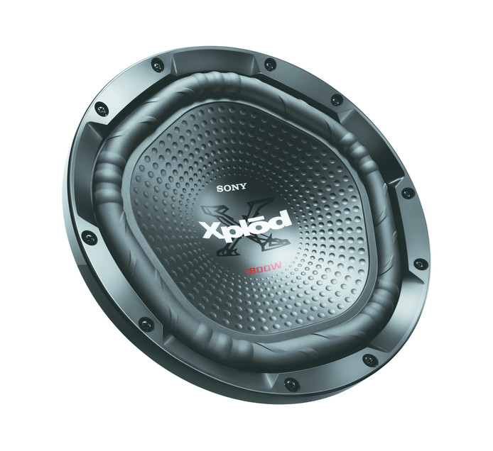 """SONY 12"""" 1800W Single Voice Coil Subwoofer"""
