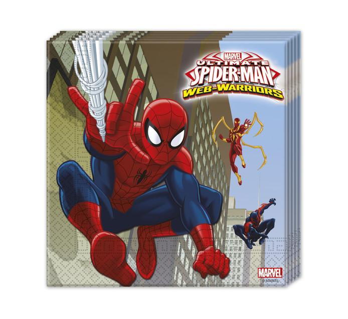 SPIDERMAN S20 Napkins