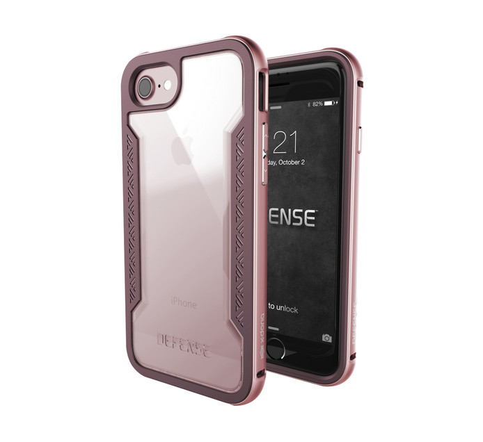 X-Doria Defense Shield for iPhone 7 Rose Gold
