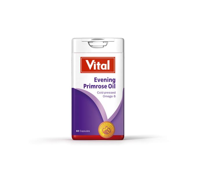 VITAL EVENING PRIMROSE OIL CAPS 60'S