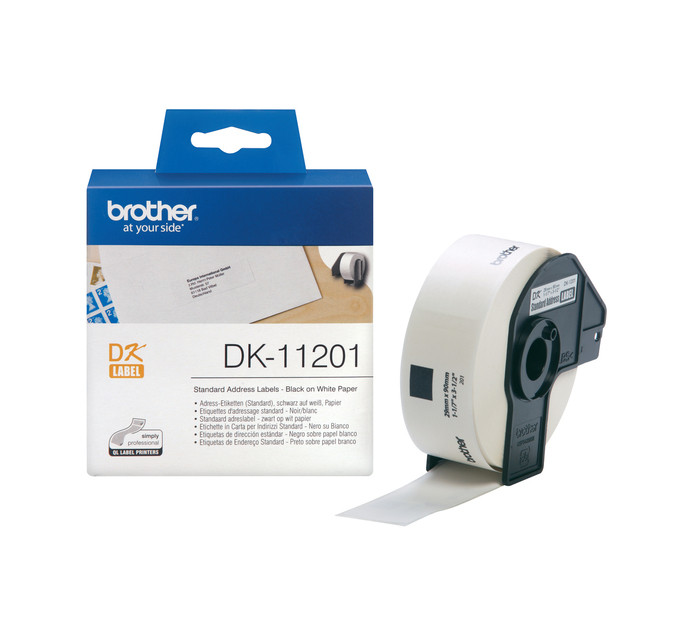 BROTHER 29mm x 90mm DK-11201 Standard Addres label  (29mm x 90mm)