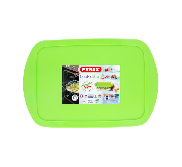 PYREX COOK & STORE ROASTER WITH LID 4.5L