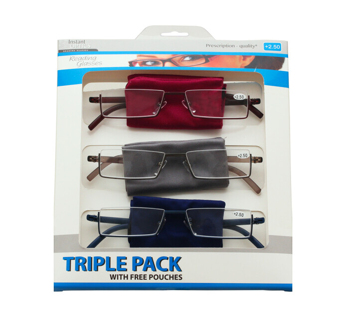 Instant Optics Triple Pack 4 - 2.50