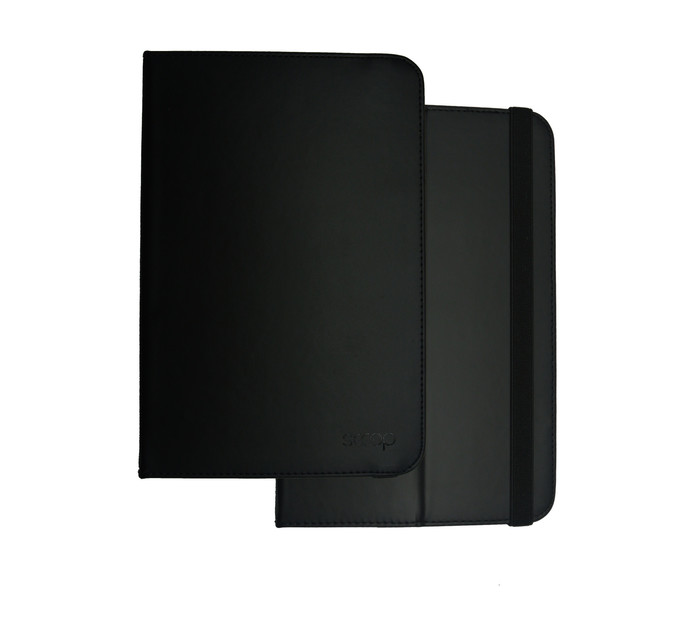 "SCOOP 7 - 8"" Eco Universal Tab Cover Black ECOUNICOVER7BLK"