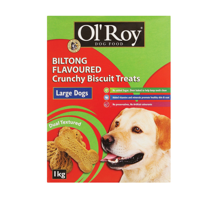 OL'ROY 1 x 1kg Dog Biscuits