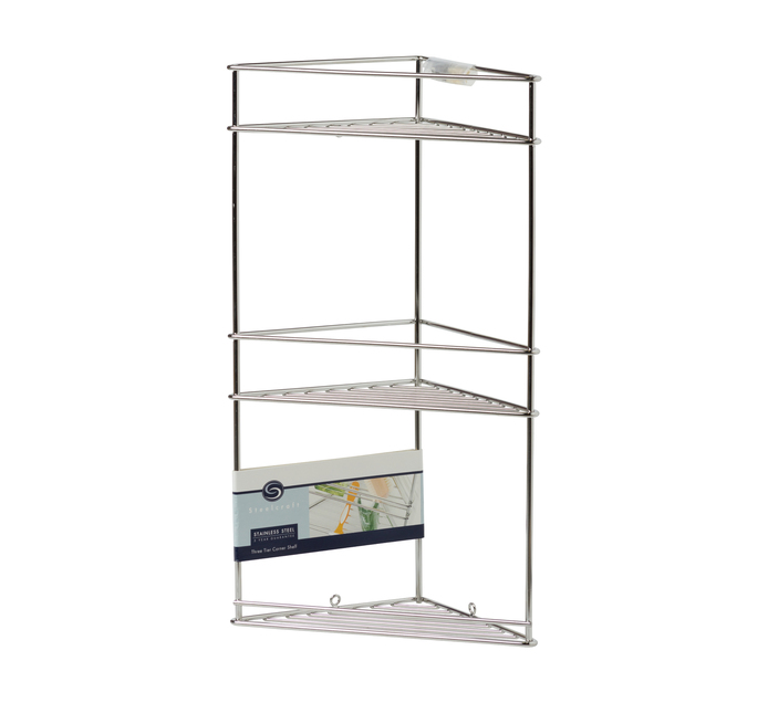 STEELCRAFT Corner Shelf Three Tier