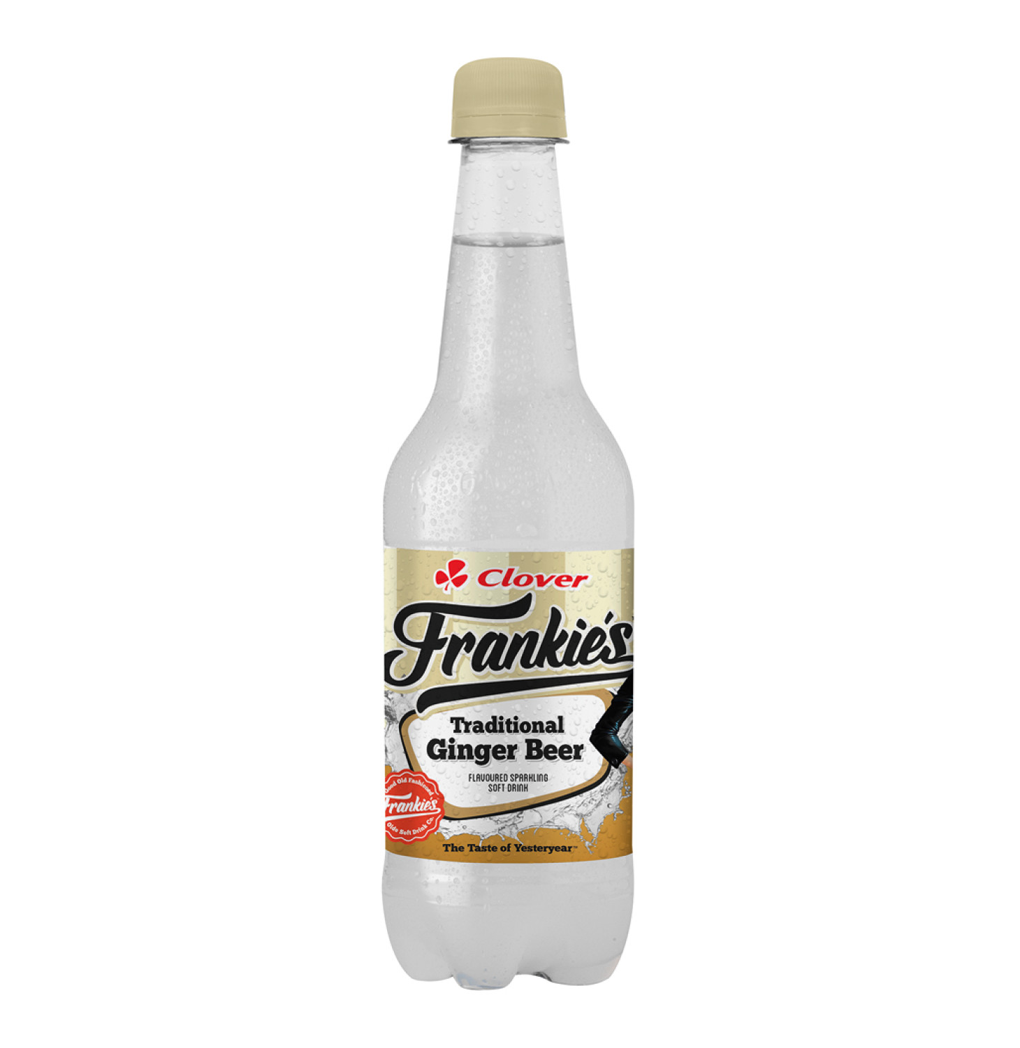 Frankies Carbonated Soft Drink Ginger Beer (1 x 400ml)