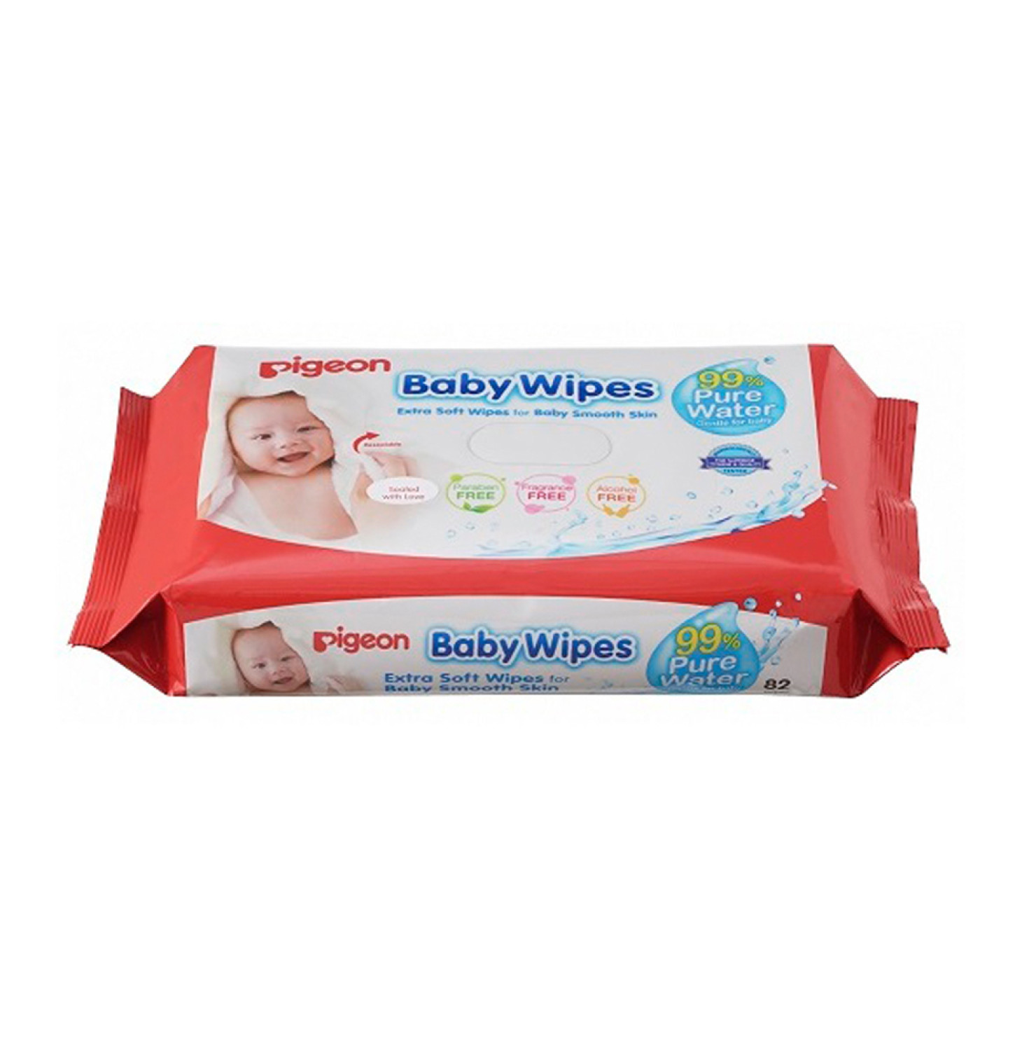 PIGEON Chamomile Baby Wipes Refill (6 x 82's)