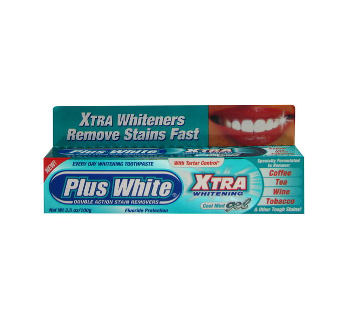 PLUS WHITE Whitening Toothpaste Xtra Gel (1 x 100ML)