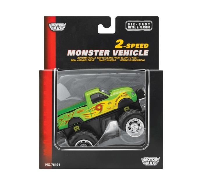 "MOTORMAX 5"" Speed Monster Trucks"