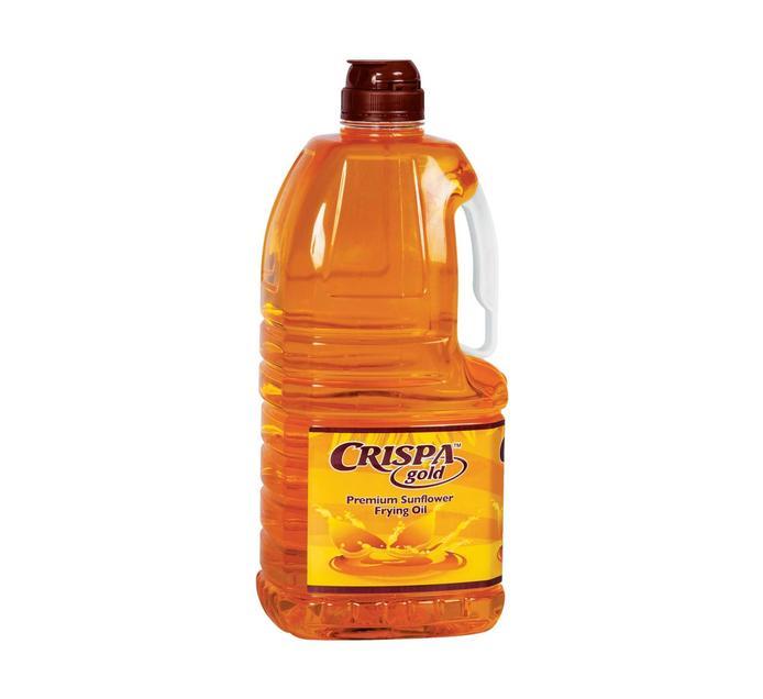 CRISPA Sunflower Frying Oil (1 x 2lt)