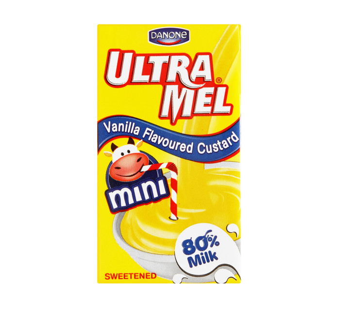 DANONE 6 x 125ml Ultramel Custard