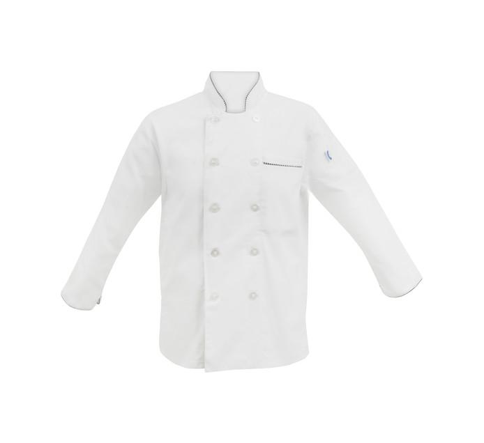 BAKERS & CHEFS Meduim Long Sleeve Chef Jacket White