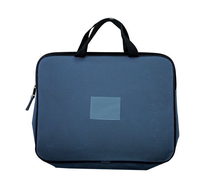 KENZEL A4 Book Bag With Handle Charcoal Each