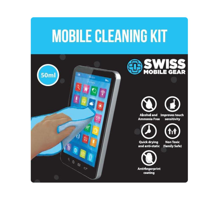 SWISS MOBILE GEAR Mobile Cleaning Kit 50 ML