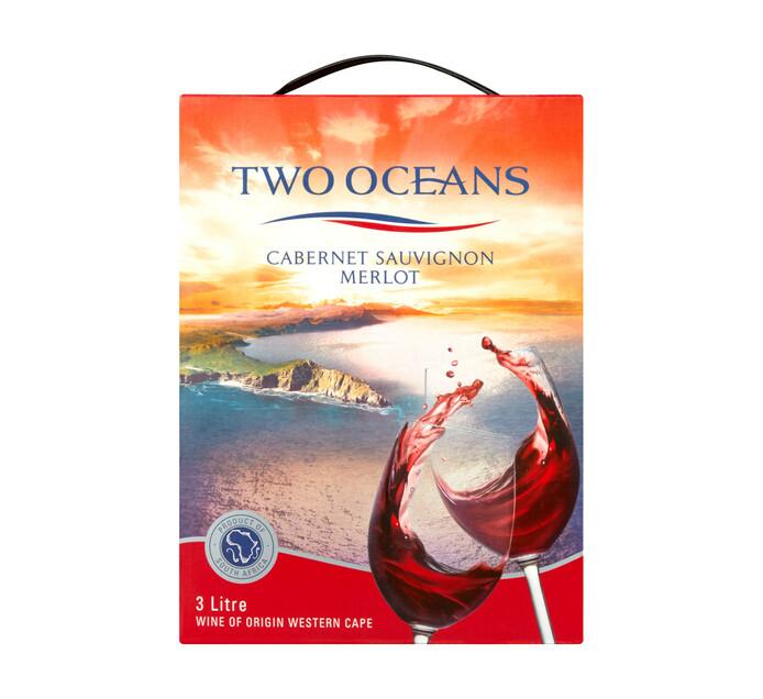 TWO OCEANS Cabernet Sauvignon Merlot (1 x 3L)