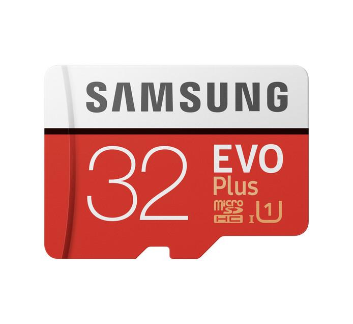 SAMSUNG 32GB EVO PLUS MICRO SD CARD