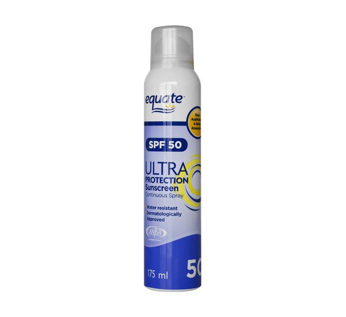 EQUATE Ultra SPF50 Spray (1 x 300ml)