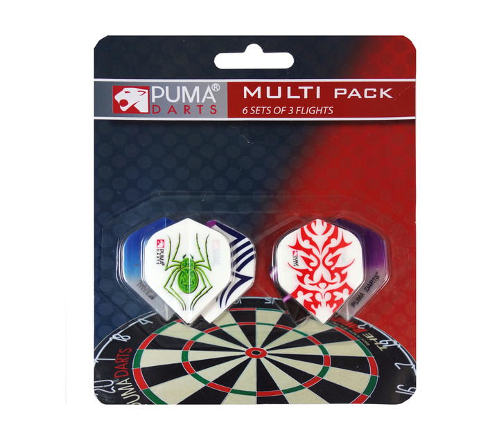 PUMA 6 Pack Dart Flights