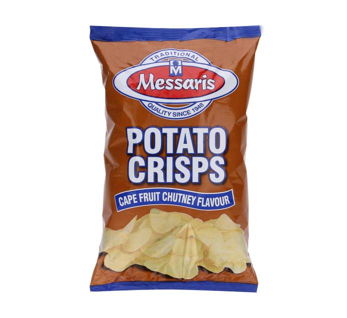MESSARIS Potato Chips Cape Fruit Chutney (12  x  125g)