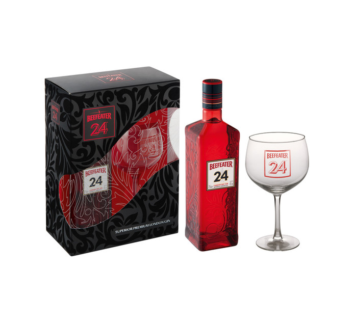 BEEFEATER Imported Gin with Goblet Glass Gift Pack (1 x 750ml)