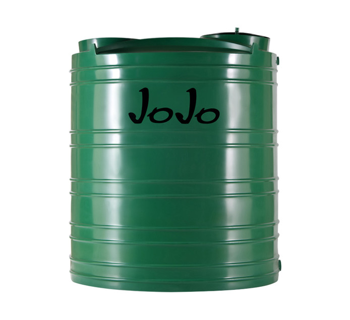 JOJO TANKS 2200 Litres Vertical Water Tank Green