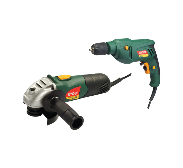 RYOBI Handyline Drill and Grinder Kit