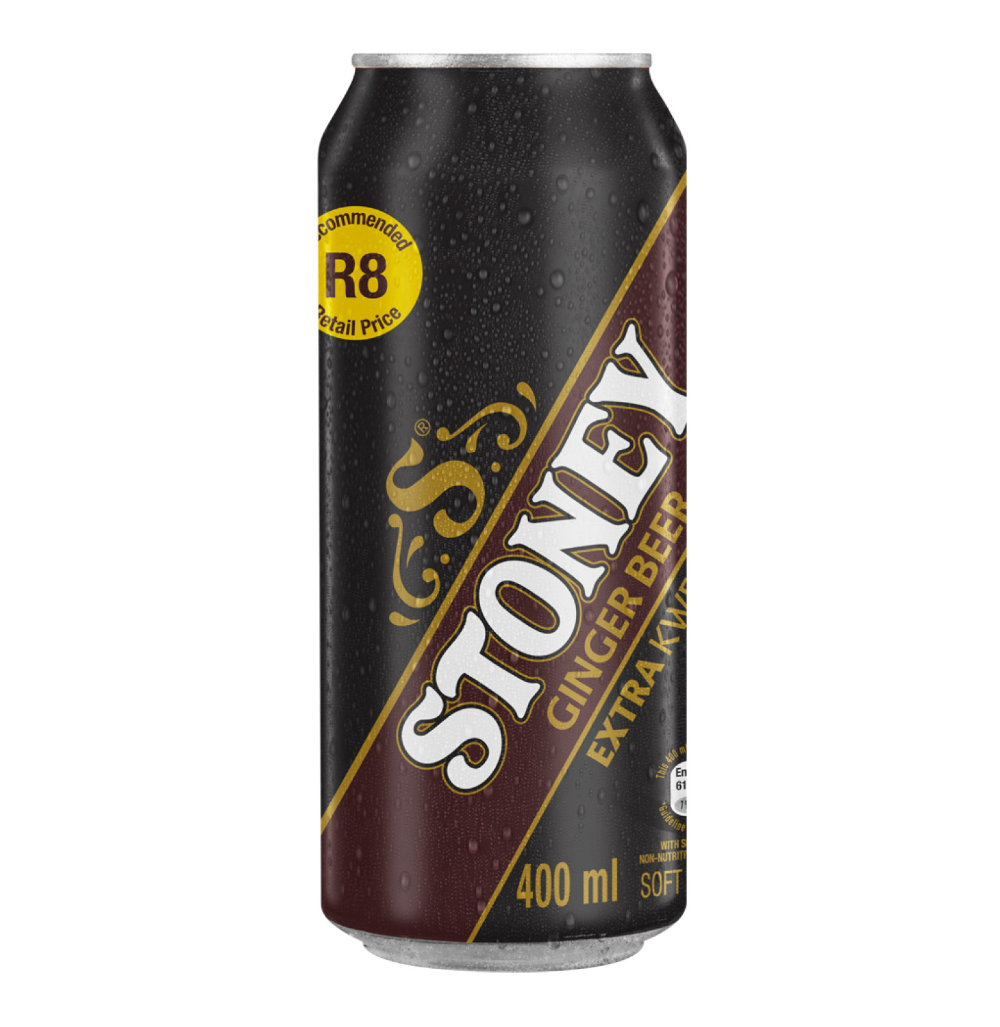 Stoney Extra Ginger Beer Can (24 x 400ml)