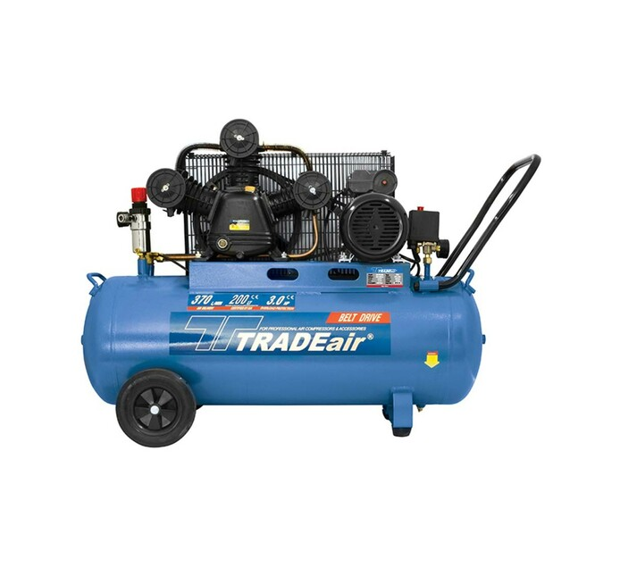 TRADEAIR 200 L 2.2 kW W Head Belt Drive Compressor