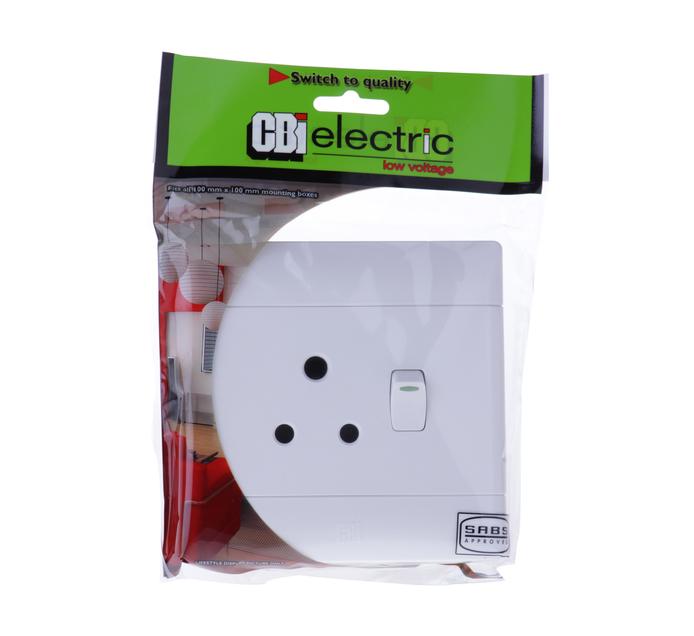 CBI 4 x 4 Single Socket Switch