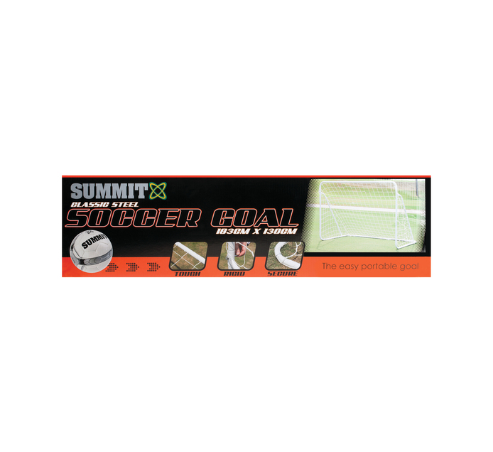 SUMMIT Metal Soccer Goals