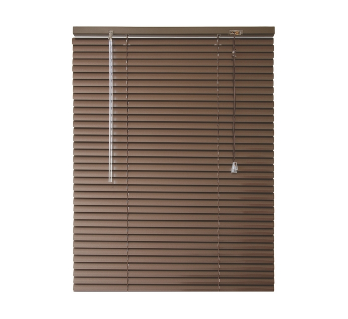 FINISHING TOUCHES 960 mm x 1600 mm Wood Grain Aluminium Venetian Blind