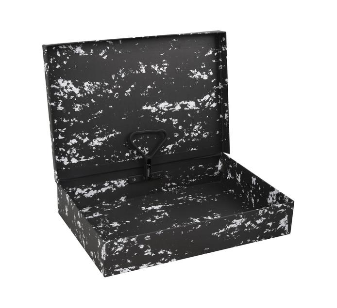 FILES Spring Clip Box Black Each