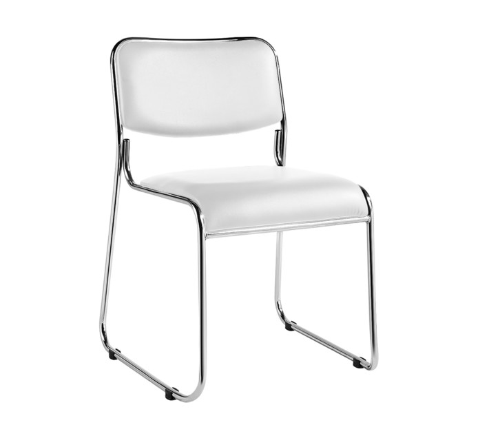 KODA Carrera Chrome Stacking Chair