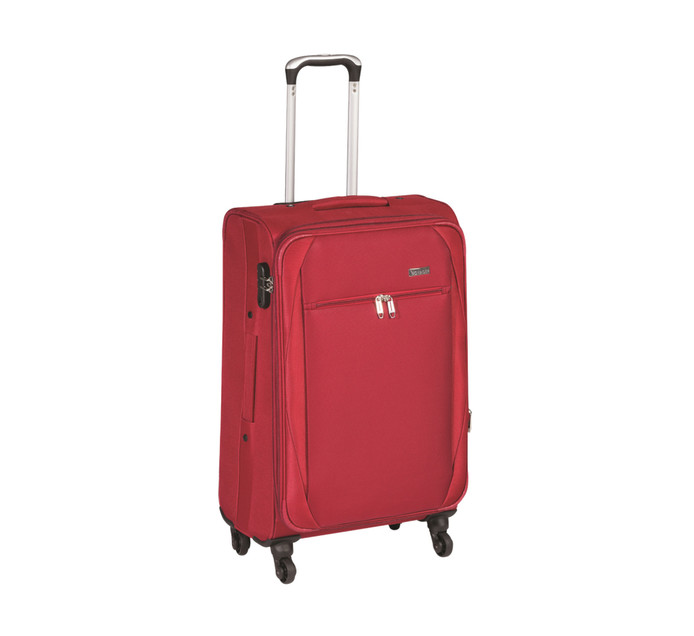 VOYAGER 4 WHEELER 64CM TROLLEY RED