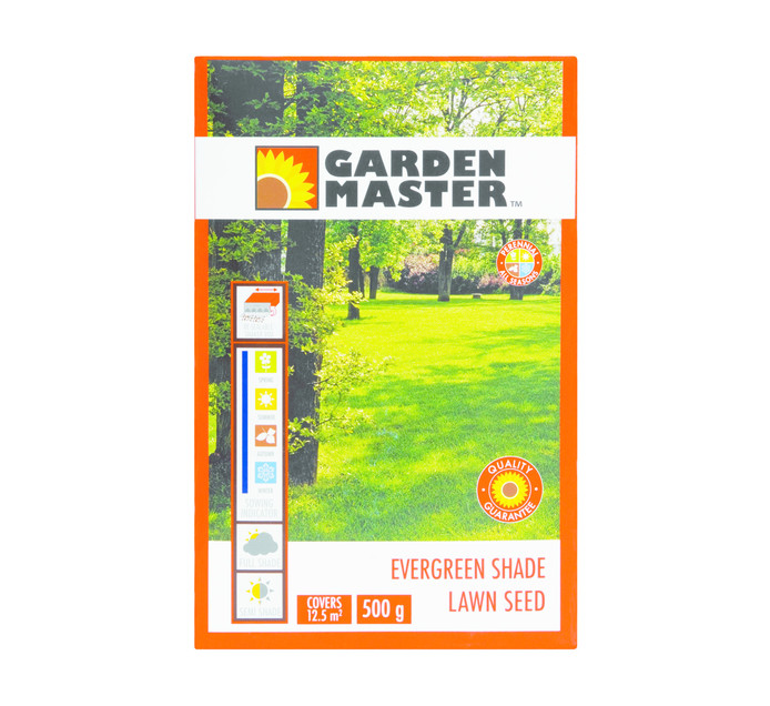 GARDENMASTER 500g Shade Lawn Seed