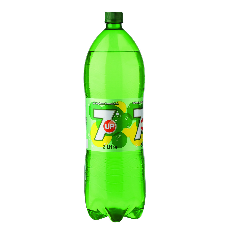 7 Up Carbonated Beverage Lemonade (6 x 2lt)