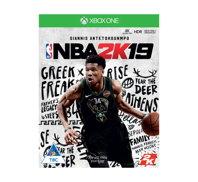 XBOX ONE NBA 2K19 Standard EDT - Available 11 Sept 18