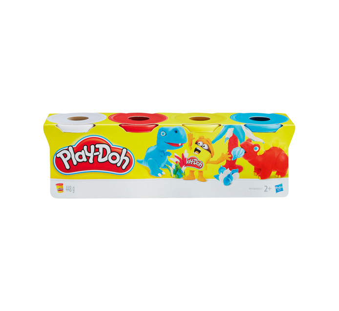 PLAYDOH 4 Pack Modeling Clay Classic Color