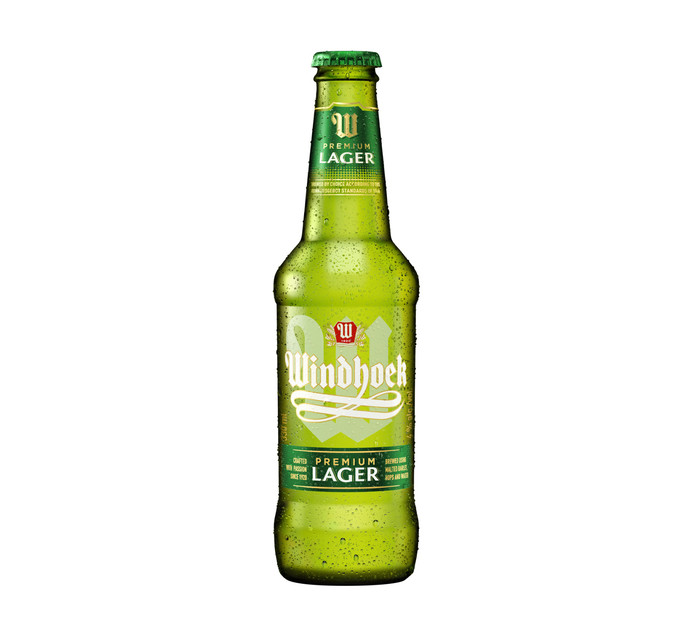 WINDHOEK Lager NRB (24 x 330ml)