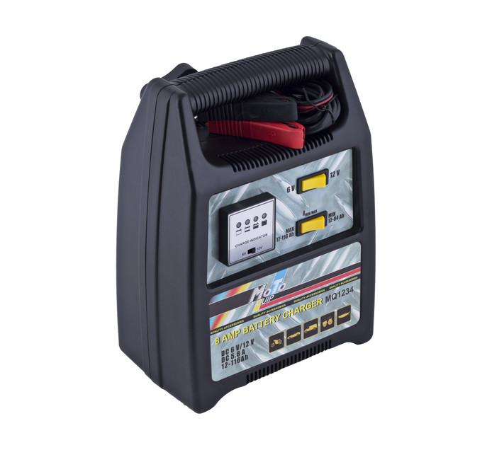 MOTO-QUIP 8 Amp Battery Charger